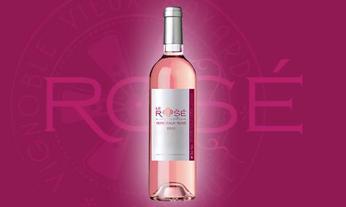 Vin rosé Château Le Sanctuaire Castillon Côtes de Bordeaux