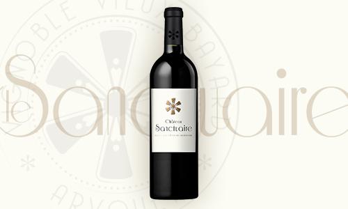 Vin rouge Castillon Côtes de Bordeaux Château Le Sanctuaire
