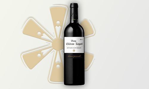 Vin rouge Réserve personnelle-Vieux Château Bayard Montagne Saint-Émilion